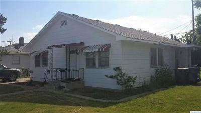 Richland Single Family Home For Sale: 1109 Sanford Avenue