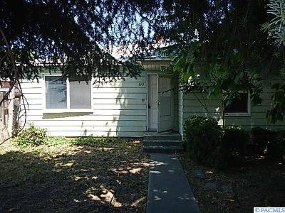 Kennewick Single Family Home For Sale: 919 E 4th Ave