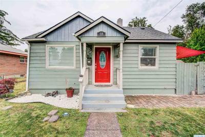 Kennewick WA Single Family Home For Sale: $190,000