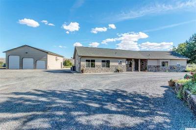 Prosser Single Family Home For Sale: 137707 W Johnson Rd