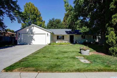 Richland Single Family Home For Sale: 1509 Rimrock