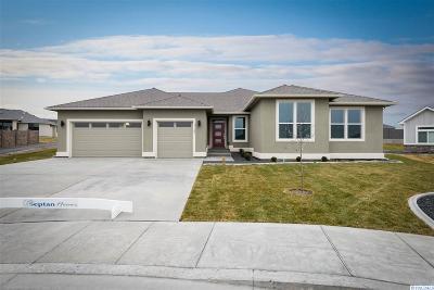Kennewick Single Family Home Active U/C W/ Bump: 1122 S Kansas Ct.