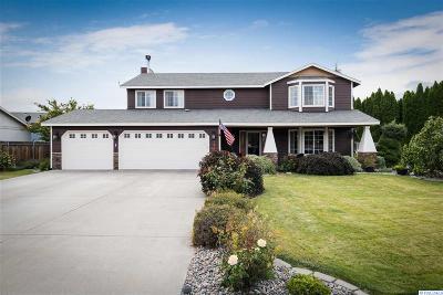 Kennewick Single Family Home For Sale: 4802 S Washington Place