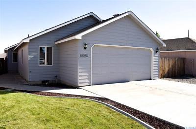 Kennewick WA Single Family Home For Sale: $218,000