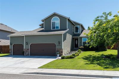 Kennewick WA Single Family Home For Sale: $334,900