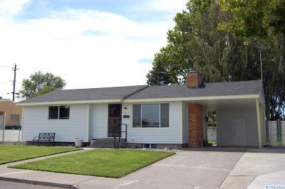 Kennewick WA Single Family Home For Sale: $205,000