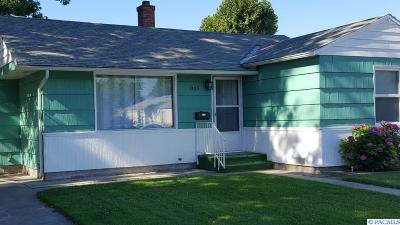 Kennewick Single Family Home For Sale: 1105 W 2nd Ave