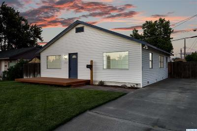 Richland WA Single Family Home For Sale: $165,000