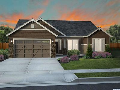 Pasco Single Family Home For Sale: 9806 Silverbright