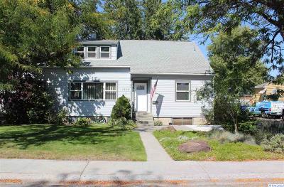 Richland Single Family Home For Sale: 1609 Davison Ave