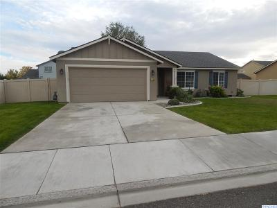 Pasco WA Single Family Home Sold: $250,000
