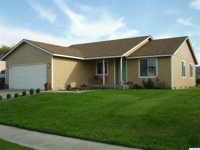 Pasco Single Family Home For Sale: 4812 Sahara Drive