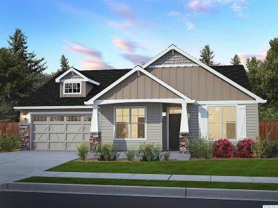 Pasco Single Family Home For Sale: 9908 Coho