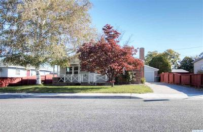 Richland WA Single Family Home For Sale: $187,000