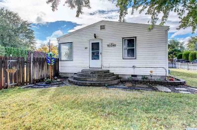 Kennewick Single Family Home For Sale: 23 S Yost St