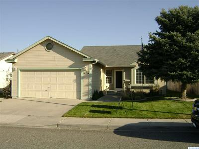 Kennewick Single Family Home For Sale: 520 N Reed
