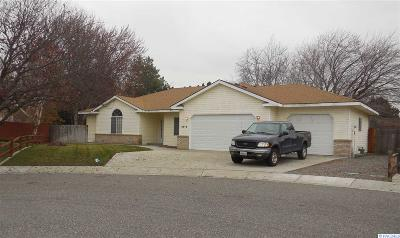 Richland Single Family Home For Sale: 2516 Houston Ct