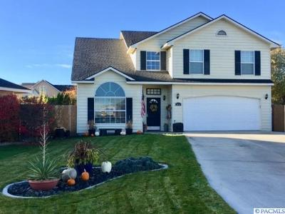 Kennewick Single Family Home For Sale: 2457 N Rhode Island Ct