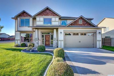 Pasco Single Family Home Active U/C W/ Bump: 4713 NW Commons Drive