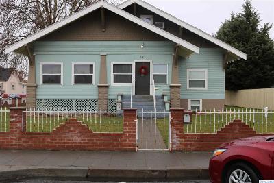 Pasco Single Family Home Active U/C W/ Bump: 527 W Bonneville St.