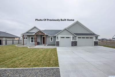 Pasco Single Family Home For Sale: Lot 45 Clarkfork #45
