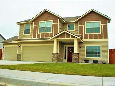Pasco Single Family Home Active U/C W/ Bump: 4612 Parley Dr.