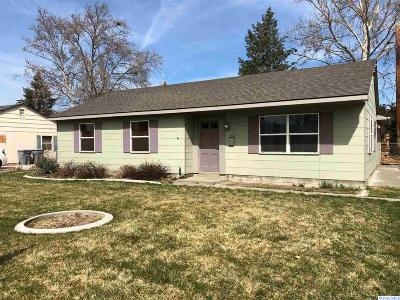 Richland Single Family Home For Sale: 2408 Richmond Blvd
