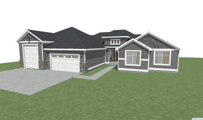 Kennewick Single Family Home For Sale: Lot 13 Wallowa