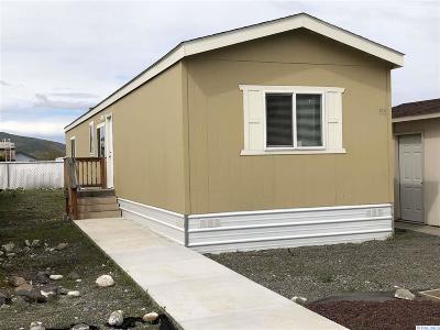 Kennewick Single Family Home For Sale: 2105 N Steptoe Street #155