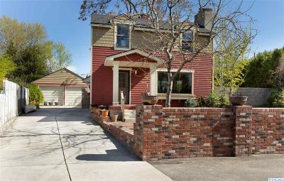 Richland Single Family Home For Sale: 1308 Hunt Ave