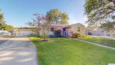 Richland Single Family Home For Sale: 1614 Davison Avenue