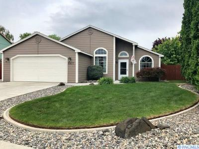 Kennewick Single Family Home For Sale: 8617 W Bonnie Ave