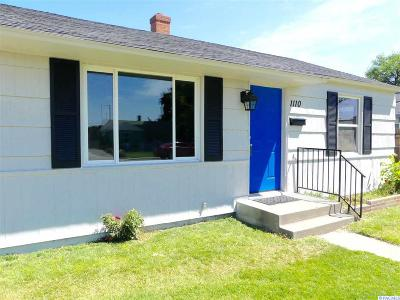 Kennewick Single Family Home For Sale: 1110 W 2nd Avenue