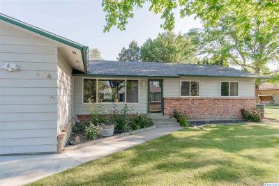 Kennewick Single Family Home For Sale: 434 W 32nd Ave