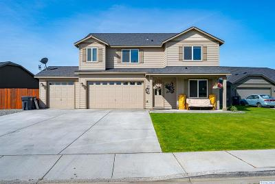 West Richland Single Family Home Active U/C W/ Bump: 5951 Noble Ct