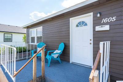Richland Single Family Home For Sale: 1605 Platt Avenue