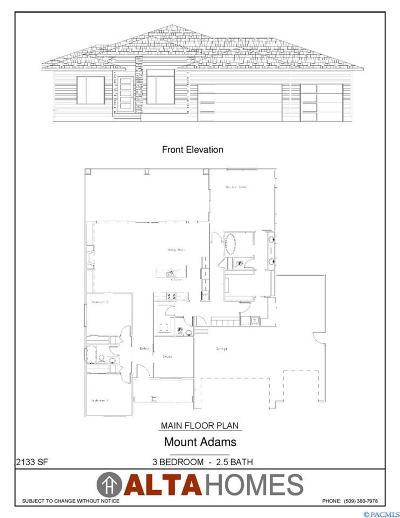 Richland Single Family Home For Sale: 4995 McEwan Dr