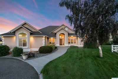 Kennewick Single Family Home For Sale: 27307 S 816 Prse