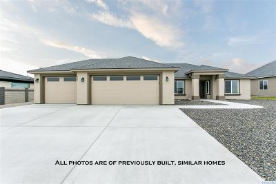 Kennewick Single Family Home For Sale: 3431 W 35th Ave (Lot 9)