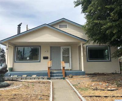 Richland Single Family Home For Sale: 411 Rossell Ave