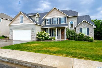Richland Single Family Home For Sale: 3702 Chadwick