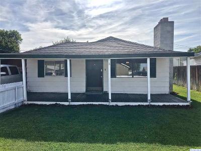 Kennewick Single Family Home For Sale: 1920 S Rainier Pl