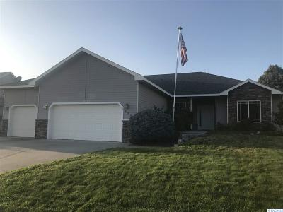 Franklin County Single Family Home For Sale: 4311 Desert Plateau Dr