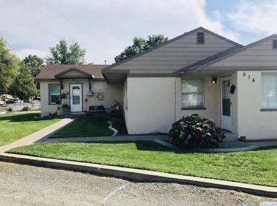 Kennewick Multi Family Home For Sale: 914 E 8th St