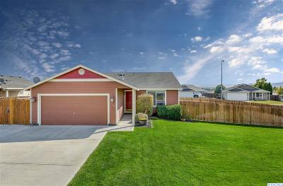 Pasco Single Family Home For Sale: 9504 Shire Drive