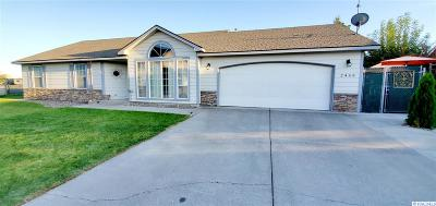 Kennewick Single Family Home For Sale: 2459 S Arthur Ct