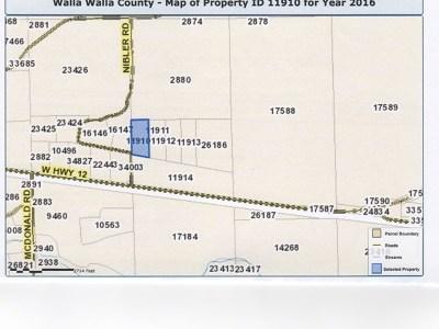 Walla Walla Residential Lots & Land For Sale: Lot 1 Camino Del Vino