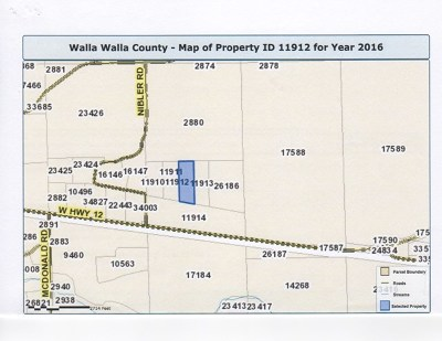 Walla Walla Residential Lots & Land For Sale: Lot 3 Camino Del Vino