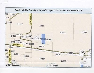 Walla Walla Residential Lots & Land For Sale: Lot 4 Camino Del Vino
