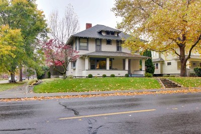 Walla Walla Single Family Home For Sale: 318 Division Street